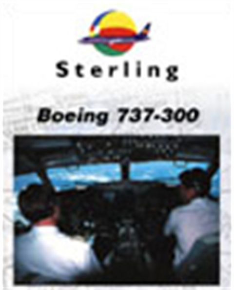 WAR : Sterling Airlines 737-300