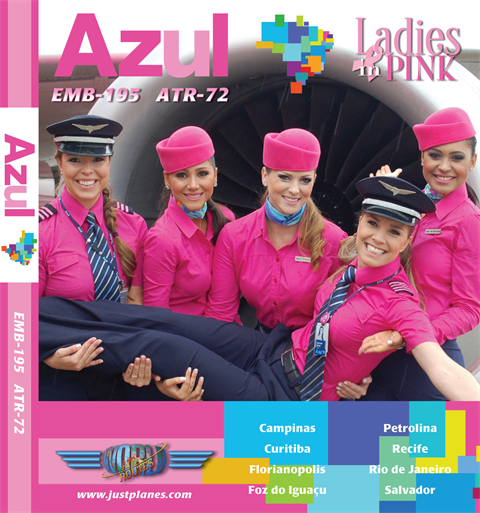 "Azul E-195 ""Ladies in Pink"" (DVD)"