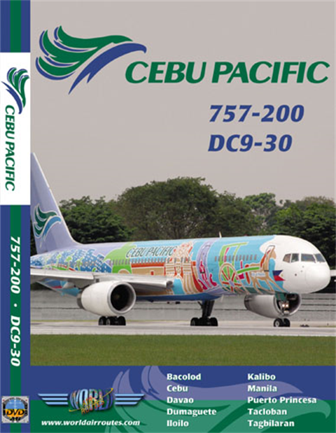 WAR : Cebu Pacific 757-200 & DC9