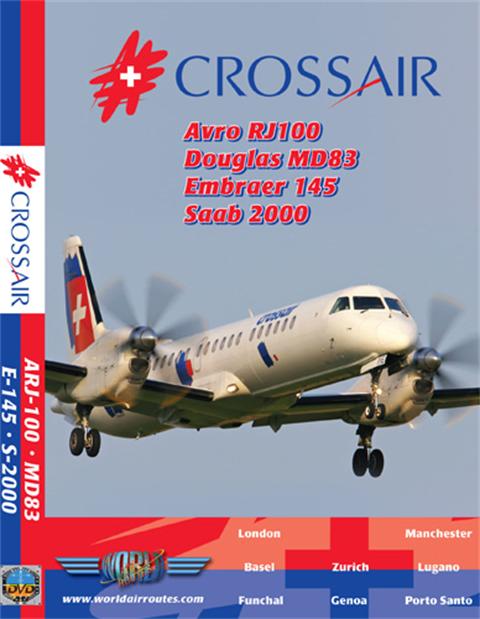 WAR : Crossair Avro, MD83, E-145 & Saab 2000